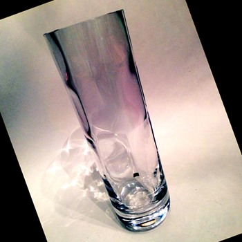 Tall Optical Kosta Boda - Edenfalk - Art Glass