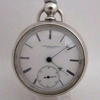 Rockford Key Wind/Set PW With Hidden Key - Pocket Watches