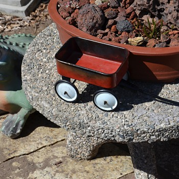 Miniature Red Wagon - Toys