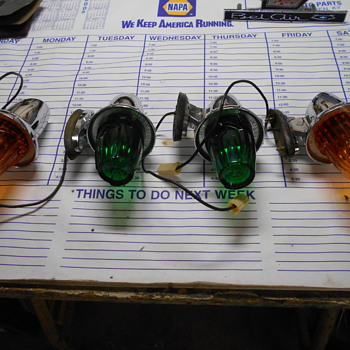 new old stock International Harvestor cab lights - Classic Cars