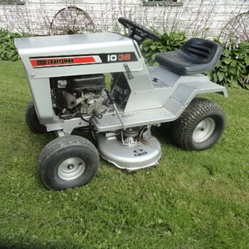 1974 Sears Craftsman LT 10 - 36 Riding Mower - Tractors