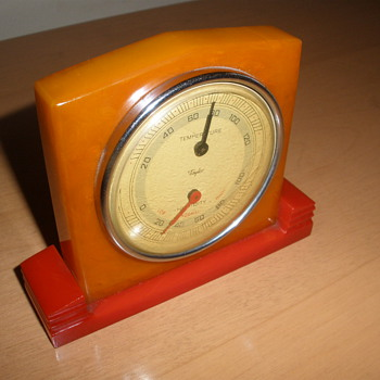 Art Deco Bakelite Thermometer - Art Deco