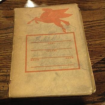 Pegasus school book cover - Petroliana