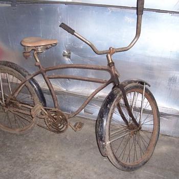 Elgin Westernm Flyer Bicycle 1931 pre-war - Sporting Goods
