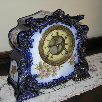 Gilbert :Porcelin Clock - Clocks