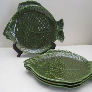 Fun Fish Dinner Plates - China and Dinnerware