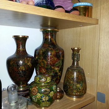 My Cloisonne things - just loooove them - Asian