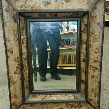MIRROR FOUND IN THRIFT SHOP PAID  $19.99 WORTH 299.99 IN 2002-3