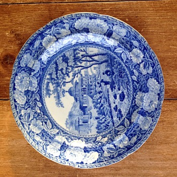 Antique Blue & White Plate ? - China and Dinnerware