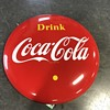 Coca Cola 4 ft button. Made  in Canada