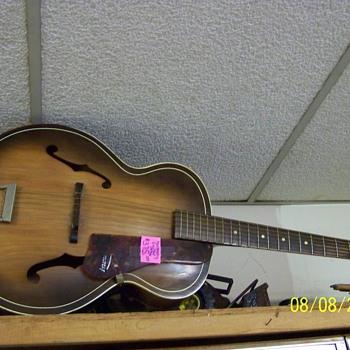 1956 Harmony Accustic Guitar - Guitars