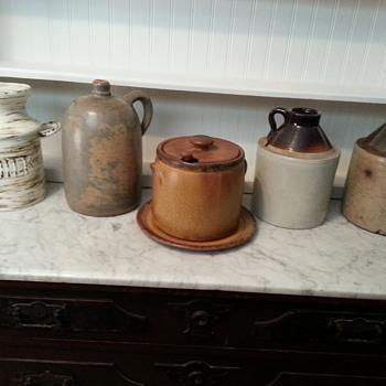McCoy Soup Tureen Ladle & Plate - Pottery