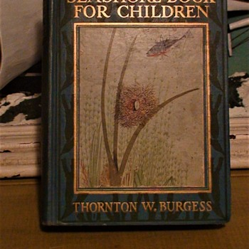 THE BURGESS SEASHORE BOOK FOR CHILDREN Hardcover 1929 1st Edition  - Books