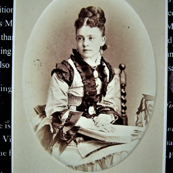 Miss Jenkins cdv by William Notman,Montreal 1879 - Photographs