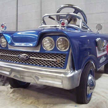 Custom 1959 Murray pedal car - Model Cars