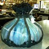 Slag Glass Hanging Lamp