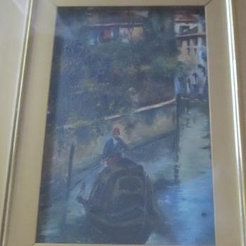 Small painting E. Jackson  - Fine Art