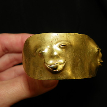 ANTIQUE VINTAGE GOLD BRACELET - Fine Jewelry