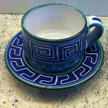 Tea cup pottery. - Pottery