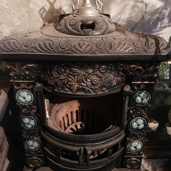 Antique Franklyn Cottage 13 Stove - Kitchen