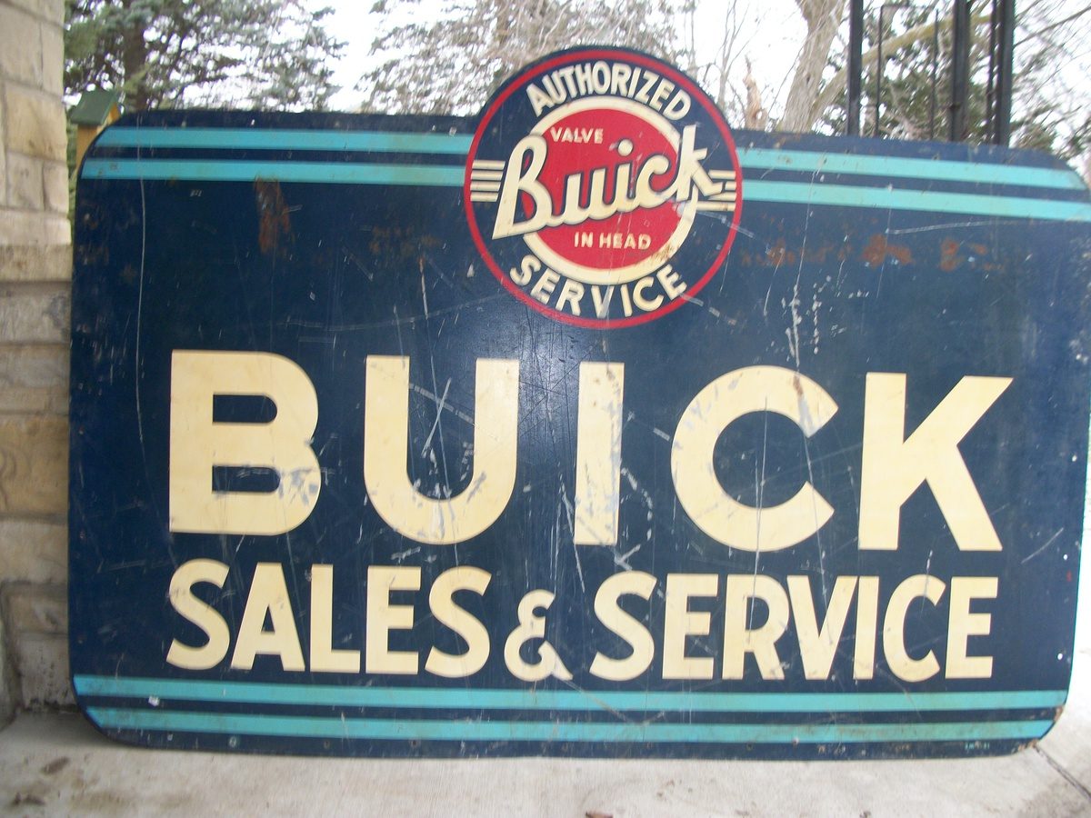 Buick vintage dealership sign | Collectors Weekly