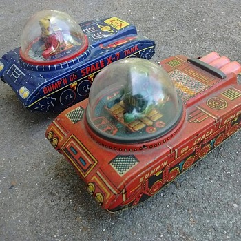 Japanese Space Tanks !  - Toys
