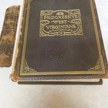 PROGRESSIVE WEST VIRGINIANS 1905 - Books