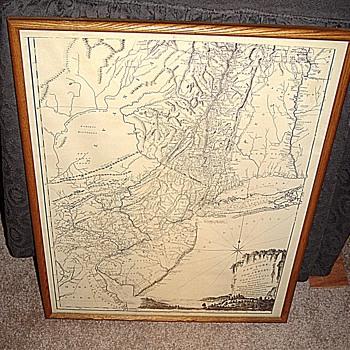 NY,NJ and part of PA Map