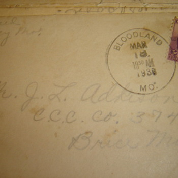 My grandparent's love notes - Paper