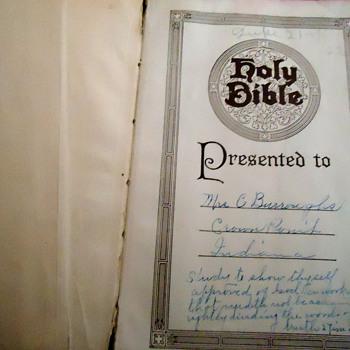 Grandma's Bible - Books