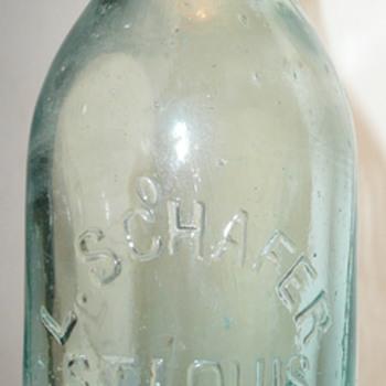 L. Schafer & E.H. Giessow Bottles, St. Louis - Bottles