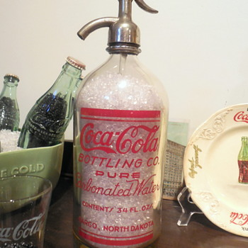 c. 1930 Coca-Cola Seltzer Bottle - Coca-Cola