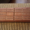 My new compact cribbage board.