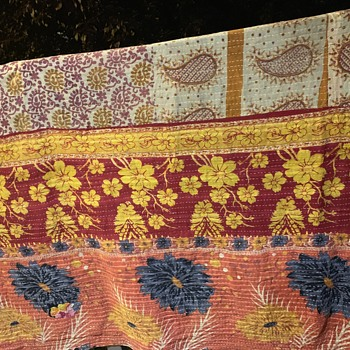 Quilted Blanket from India [i think] - Rugs and Textiles