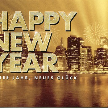 Happy New Year 2015…..to all of Collectors' World Friends! - Postcards