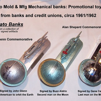 Astronaut Signed Bank Collection