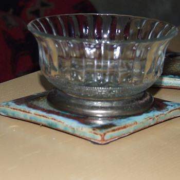 Little pressed glass piece