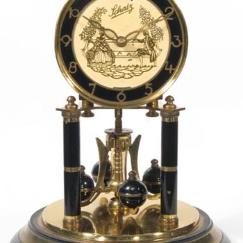 Schatz Black Painted Standard Size 400 Day Clock