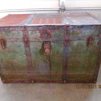 Antique Trunk #4 - Furniture