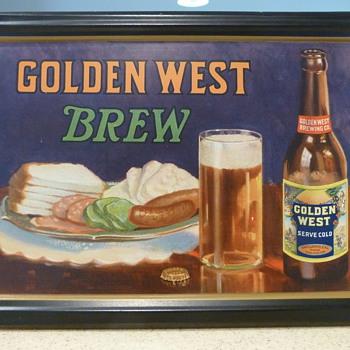 Golden West Brew - Breweriana