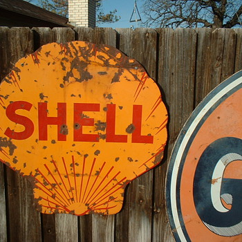 Shell Sign - Advertising