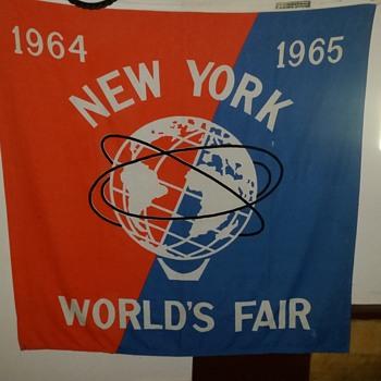1964-1965 WF Flag - Advertising
