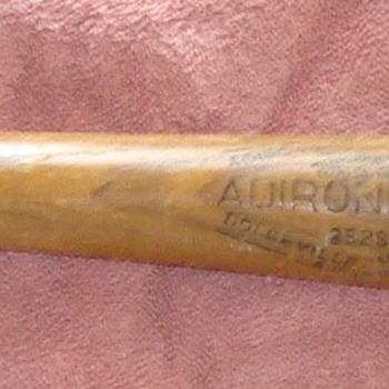 My wooden baseball bat from 1963. - Baseball