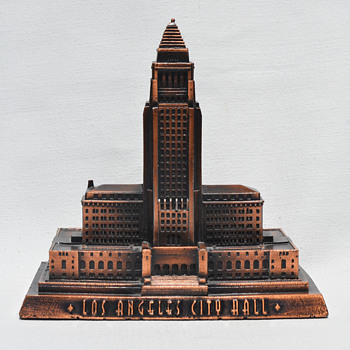 Los Angeles City Hall - I Love LA - Advertising