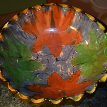 Oaxaca Drip Bowl - Pottery