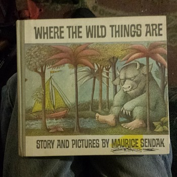 First edition childrens book