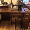 1902 singer sewing machine with table & bench