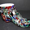 Welz Spatter Glass Shoe