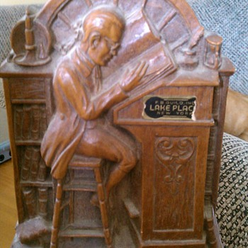Grandfathers bookend