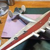 Vintage Pan American Airways Boeing B-314 Corporate Desk Model with Interior Lighting